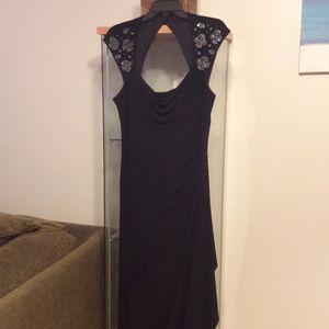 MSK sleeveless maxi dress